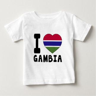 I Love Gambia T Shirt