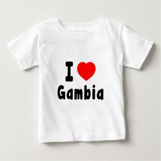 I Love Gambia. T-shirts