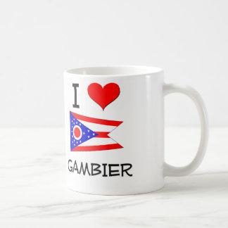 I Love Gambier Ohio Basic White Mug