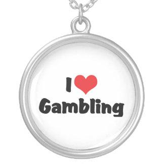 I Love Gambling Pendant