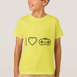 I Love Game Controllers Shirts
