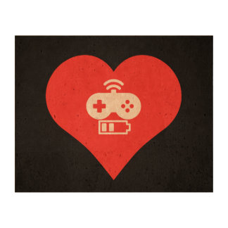 I Love Game Controls Cool Symbol Cork Fabric