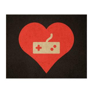 I Love Game Controls Modern Queork Photo Print