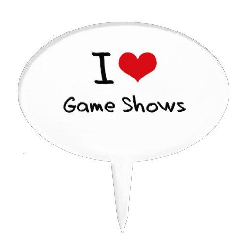 I Love Game Shows Cake Picks
