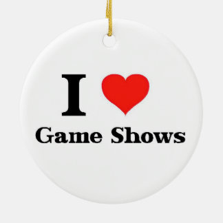 I Love Game Shows Ornament