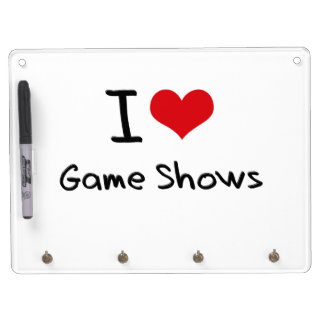 I Love Game Shows Dry-Erase Boards