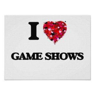 I Love Game Shows Poster