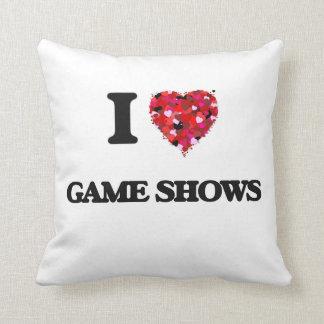 I Love Game Shows Throw Cushion