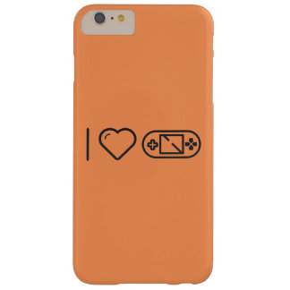 I Love Game Tags Barely There iPhone 6 Plus Case