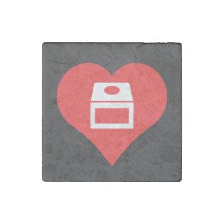 I Love gamecube Stone Magnet