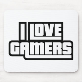 I Love Gamers Mouse Pad