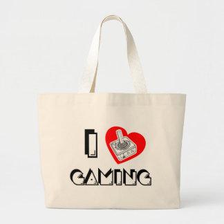 I love Gaming Jumbo Tote Bag
