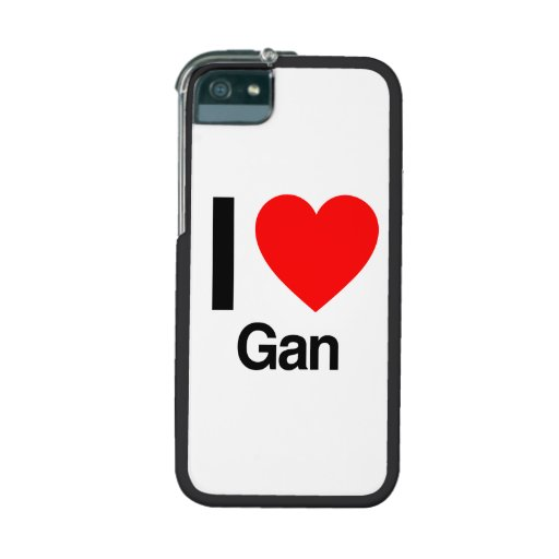 i love gan cover for iPhone 5