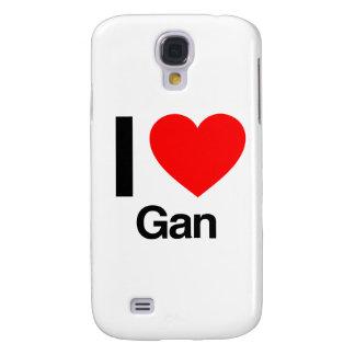 i love gan samsung galaxy s4 case