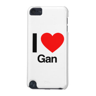 i love gan iPod touch (5th generation) case