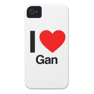 i love gan Case-Mate iPhone 4 case