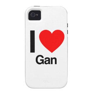 i love gan Case-Mate iPhone 4 covers
