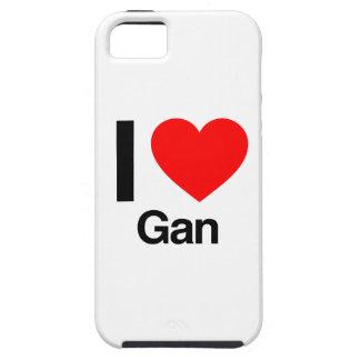 i love gan tough iPhone 5 case