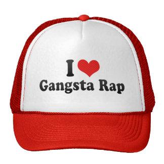 I Love Gangsta Rap Trucker Hat