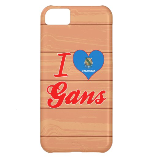 I Love Gans, Oklahoma Cover For iPhone 5C