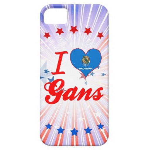 I Love Gans, Oklahoma iPhone 5 Cases
