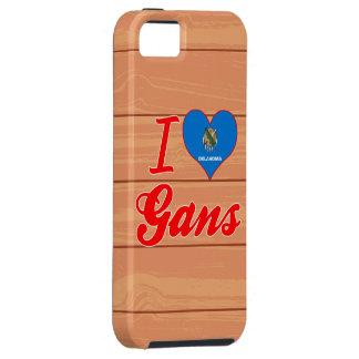 I Love Gans, Oklahoma iPhone 5 Covers