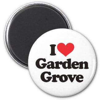 I Love Garden Grove 6 Cm Round Magnet