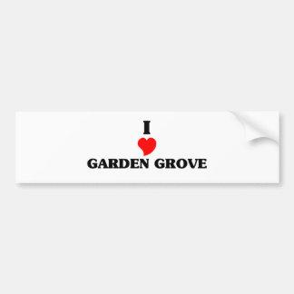 I love Garden Grove Car Bumper Sticker
