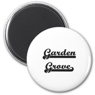 I love Garden Grove California Classic Design 6 Cm Round Magnet