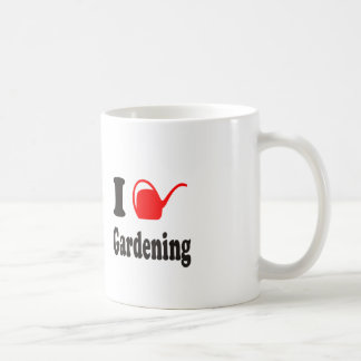 I Love Gardening Coffee Mug