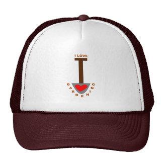 I Love Gardening Spade Hat