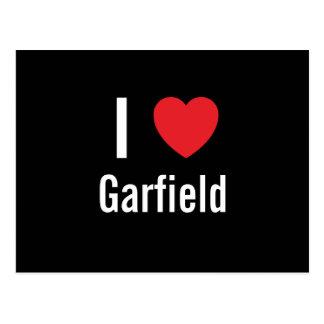 I love Garfield Postcard