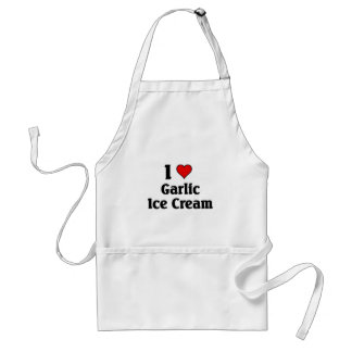 I love Garlic Ice Cream Standard Apron