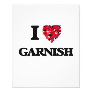 I Love Garnish 11.5 Cm X 14 Cm Flyer