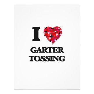 I Love Garter Tossing 21.5 Cm X 28 Cm Flyer