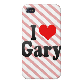 I love Gary iPhone 4 Cases