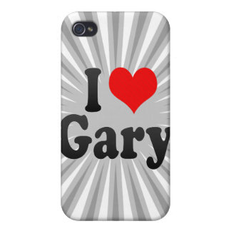 I love Gary Cover For iPhone 4