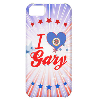 I Love Gary, Minnesota Case For iPhone 5C