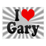 I love Gary Post Cards