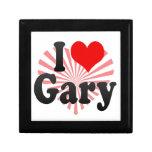 I love Gary Trinket Boxes
