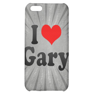 I Love Gary, United States Cover For iPhone 5C