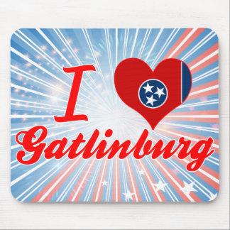 I Love Gatlinburg Tennessee Mouse Pads