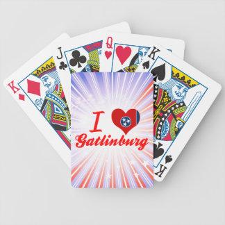 I Love Gatlinburg Tennessee Poker Deck