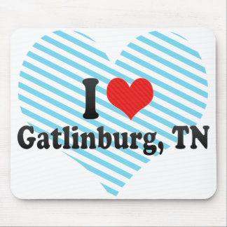 I Love Gatlinburg TN Mouse Pad