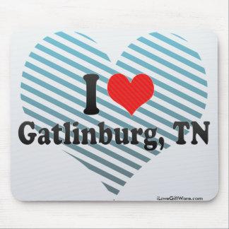 I Love Gatlinburg TN Mousepad