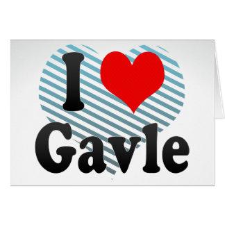 I Love Gavle, Sweden. Jag Alskar Gavle, Sweden Note Card
