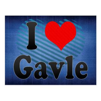 I Love Gavle, Sweden. Jag Alskar Gavle, Sweden Postcard