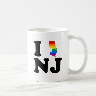 I LOVE GAY NEW JERSEY BASIC WHITE MUG