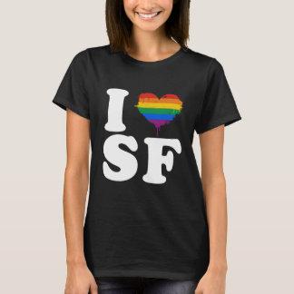 I LOVE GAY SAN FRANCISCO - WHITE -.png T-Shirt