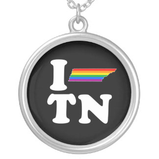 I LOVE GAY TENNESSEE - WHITE -.png Pendant